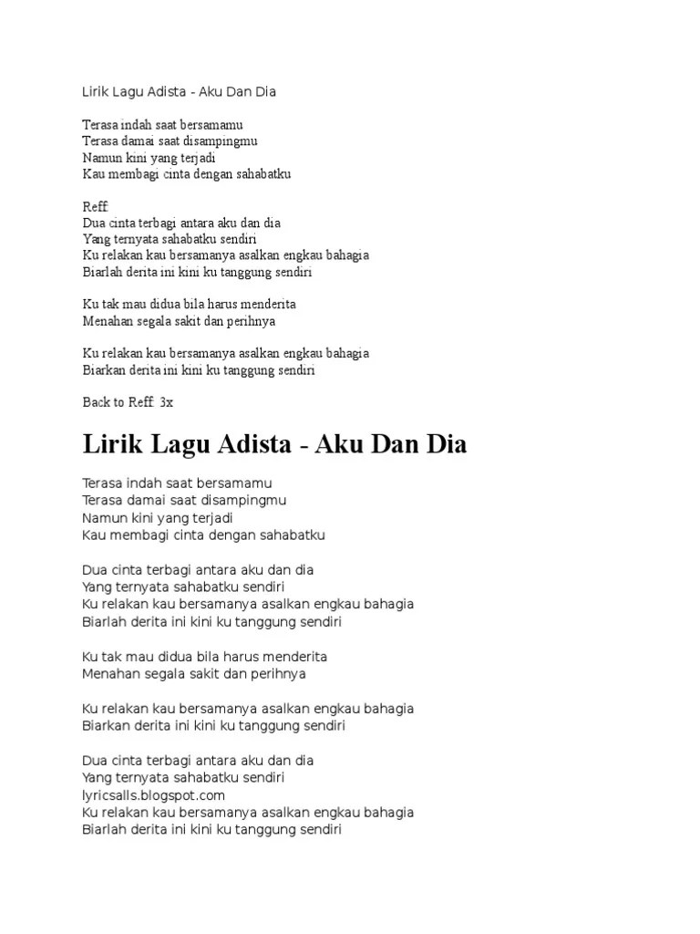 Download Lagu Adista Aku Bahagia : download, adista, bahagia, Adista