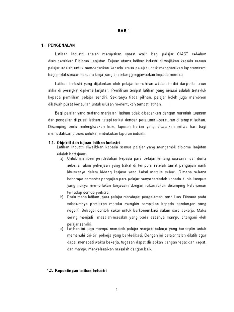 Laporan Harian Latihan Industri Sistem Komputer