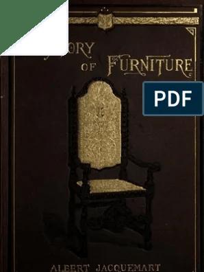 1907 A History Of Furniture Furniture Decorative Arts