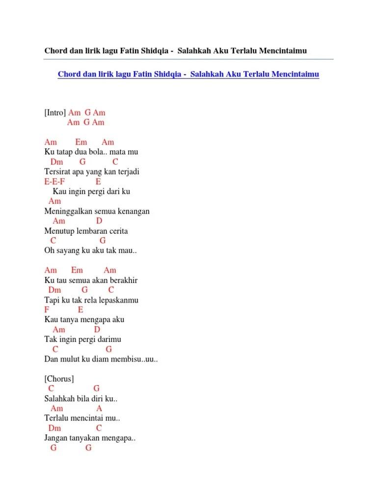 Download Lagu Salahkah Bila Diriku Terlalu Mencintaimu : download, salahkah, diriku, terlalu, mencintaimu, Fatin, Salahkah, Terlalu, Mencintaimu, Karaoke, Sedang