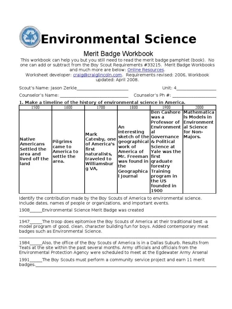 worksheet Communications Merit Badge Worksheet Pdf holt environmental science worksheets free library envir ment l w ksheets wiildcre tive