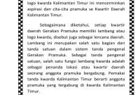 Arti Lambang Kalimantan Timur Dalam Pramuka