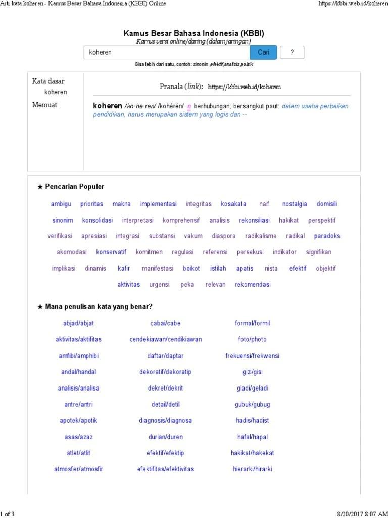 akomodasi - KBBI.net