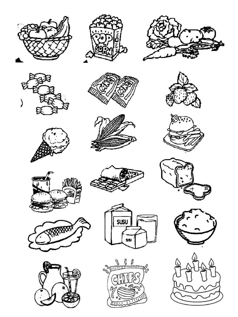 Mewarnai Makanan Sehat : mewarnai, makanan, sehat, Mewarnai, Makanan, Sehat, Sempurna