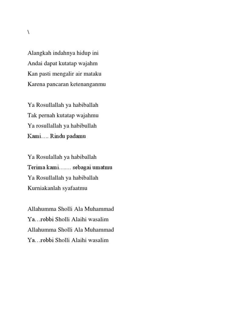 Allahumma Sholli Ala Muhammad Ya Robbi Sholli Alaihi Wasallim : allahumma, sholli, muhammad, robbi, alaihi, wasallim, Lirik, Allahumma, Sholli, Muhammad, Robbi, Alaihi, Wasallim, Habib, Syech