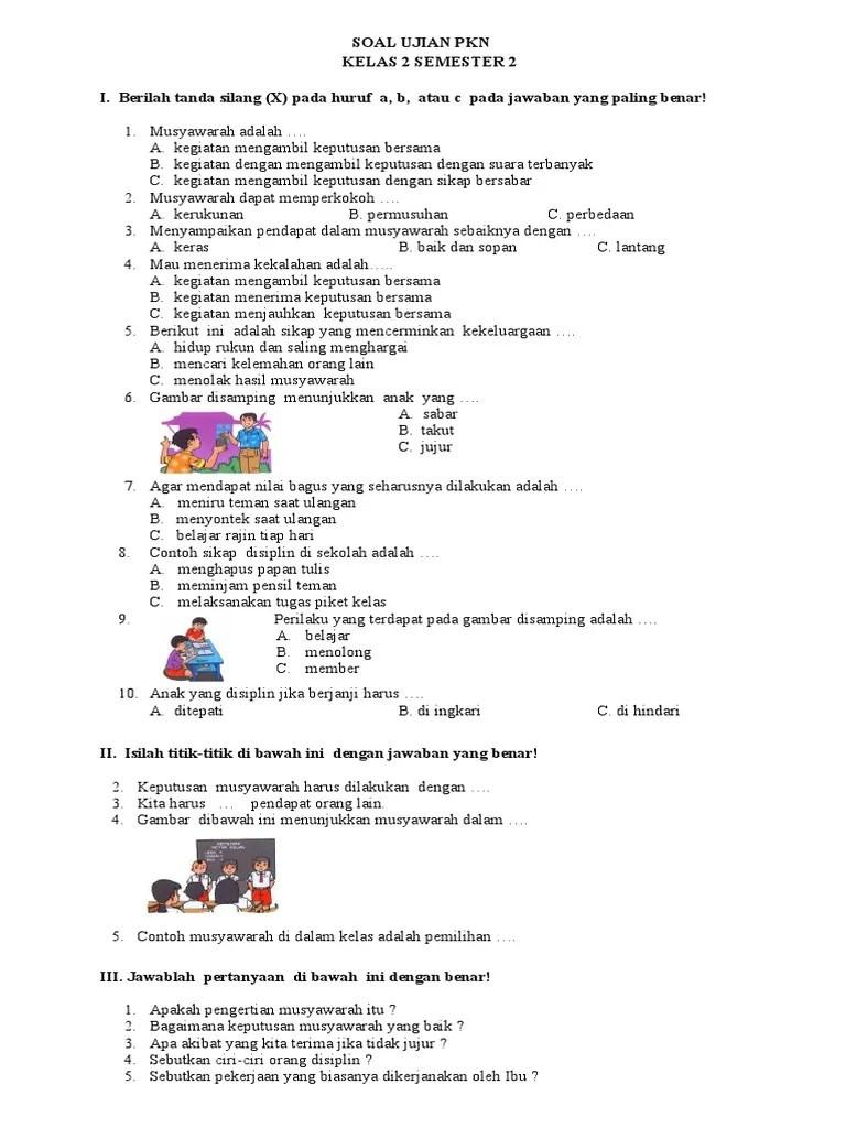 18 Contoh Makalah Pkn Kelas X Semester 2