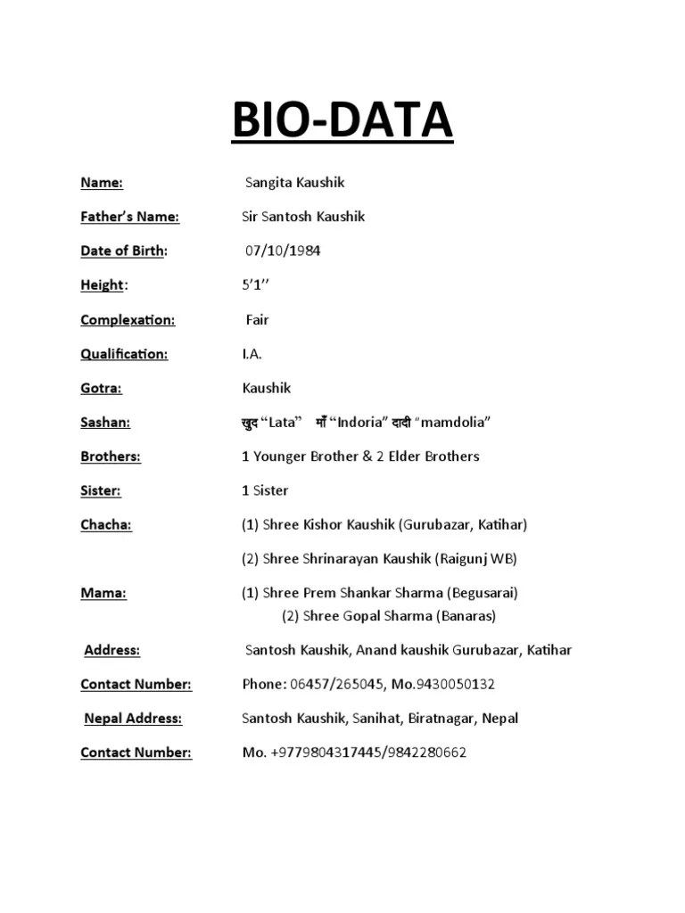 biodata format biodata marriage samples resume monograma co