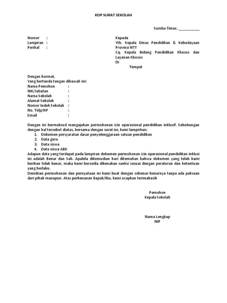 Ijin Operasional Smp Pdm Kabupaten Kotawaringin Barat Muhammadiyah