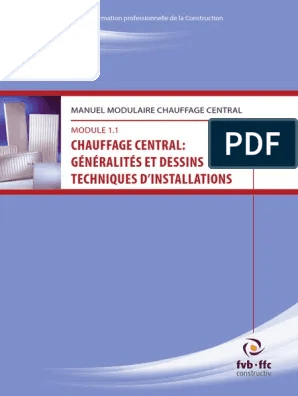 https fr scribd com document 392331711 chauffage central generalites et dessins techniques d installations pdf