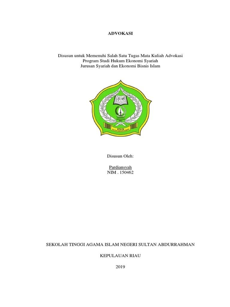 16 Skripsi Jurusan Hukum Ekonomi Syariah