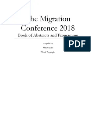 The Migration Conference 2018 Book Of Ab Pdf Entrepreneurship