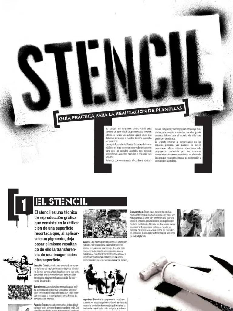 Manual De Stencil Comando Creativo Pdf