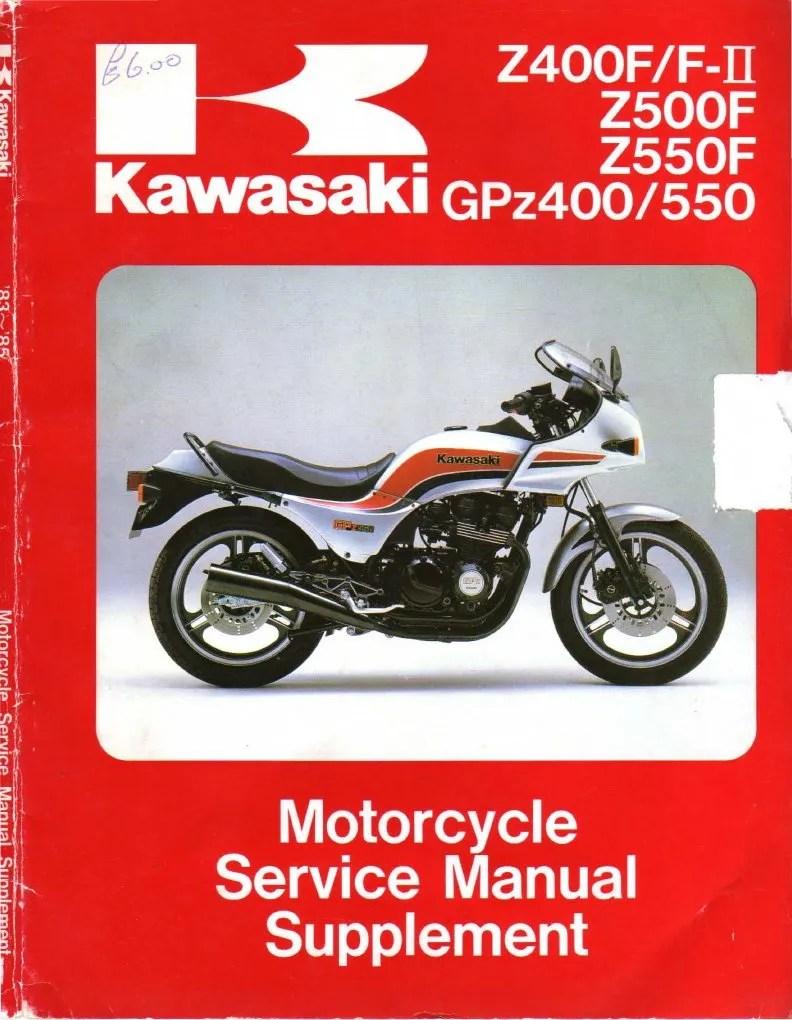 1982 Kawasaki Gpz 550 Service Manual   hobbiesxstyle