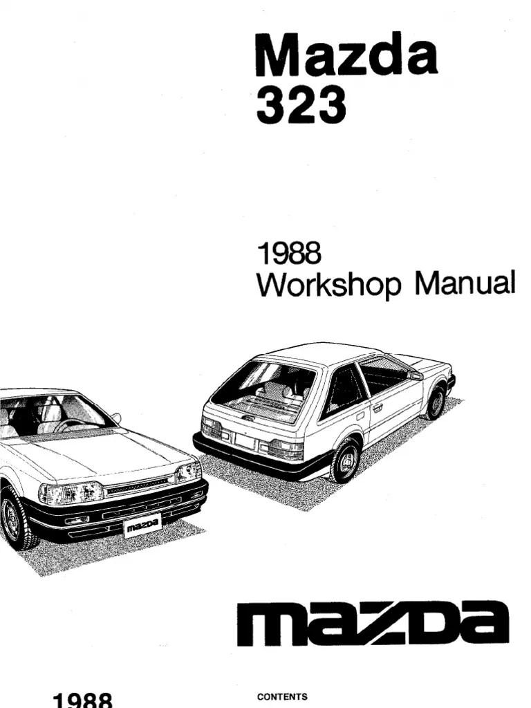 Array plete 1988 mazda 323 workshop manual belt mechanical rh