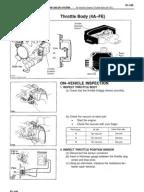 Manual corolla engine 4AFE 3SGTE 5SFE