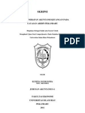 17 Skripsi Pendidikan Ekonomi Jurusan Akuntansi Download