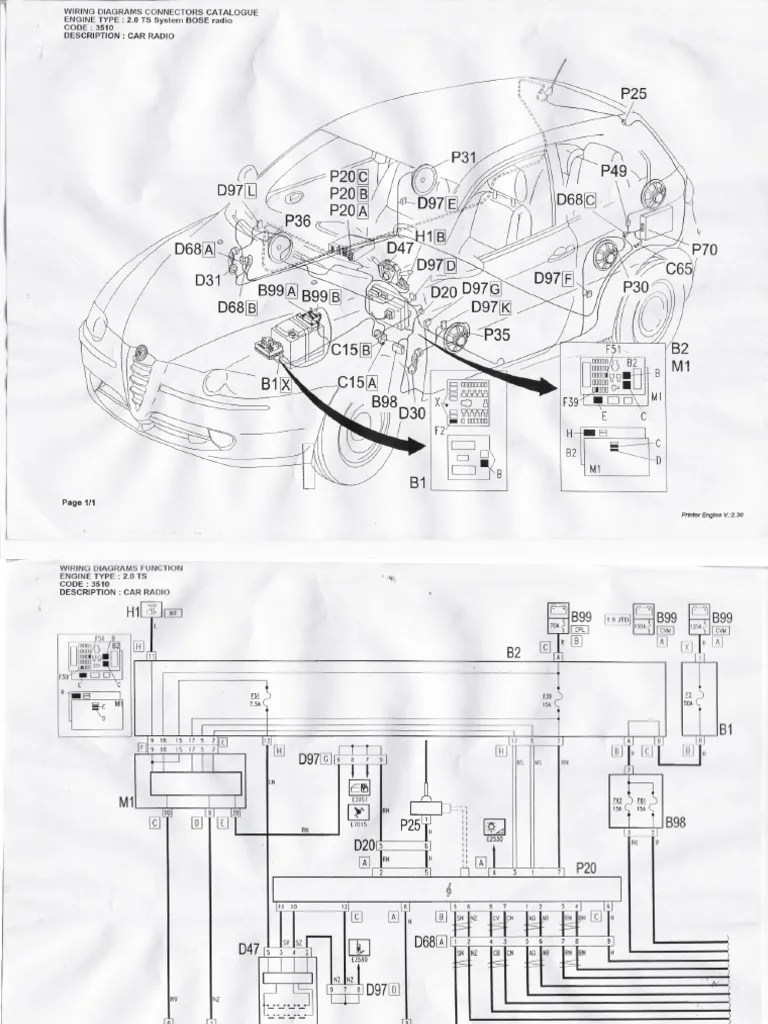 Bose wiring diagrams for alfa 147 detroit diesel wiring diagrams alfa romeo 147 wiring diagram