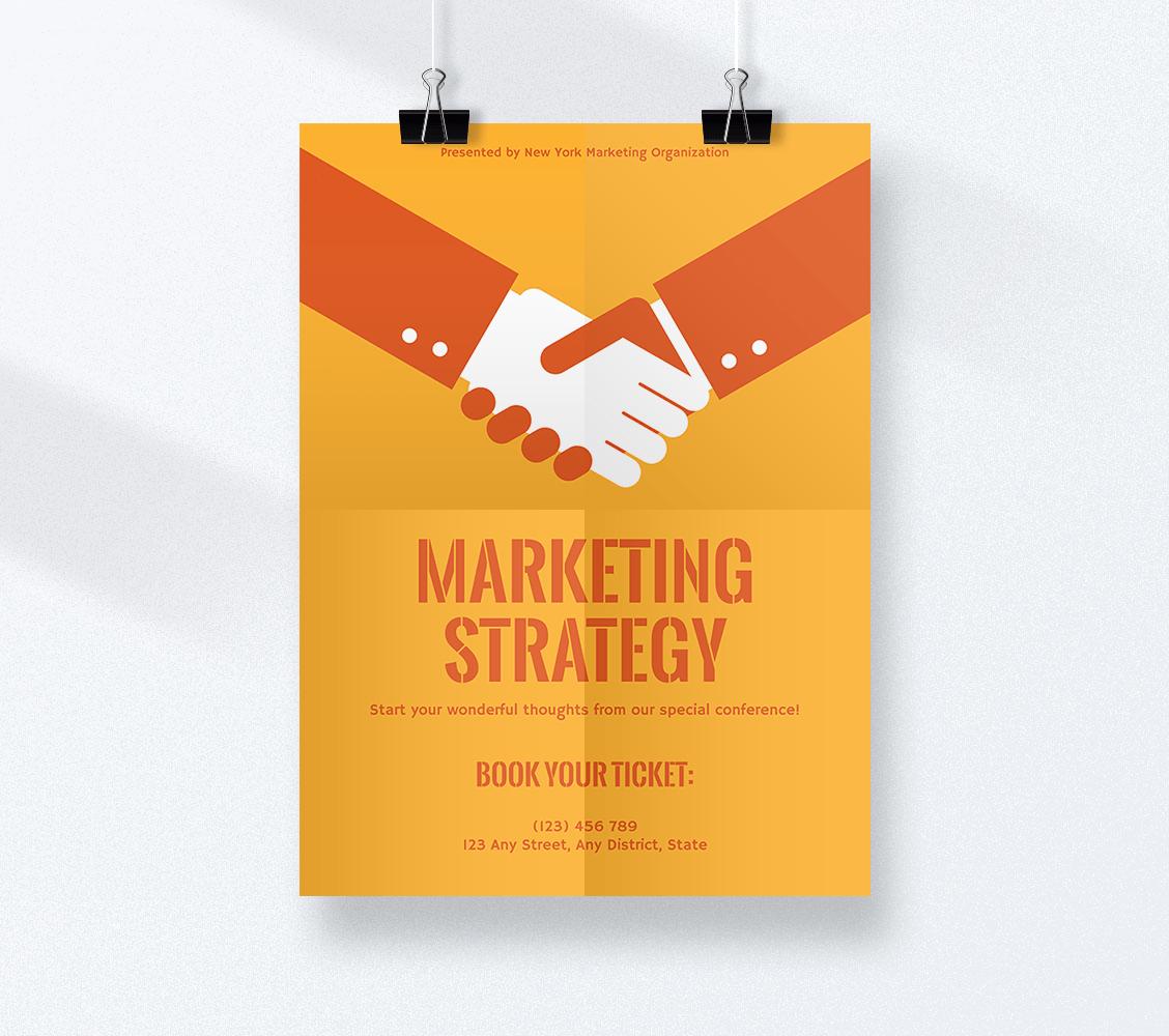 advertising poster maker create
