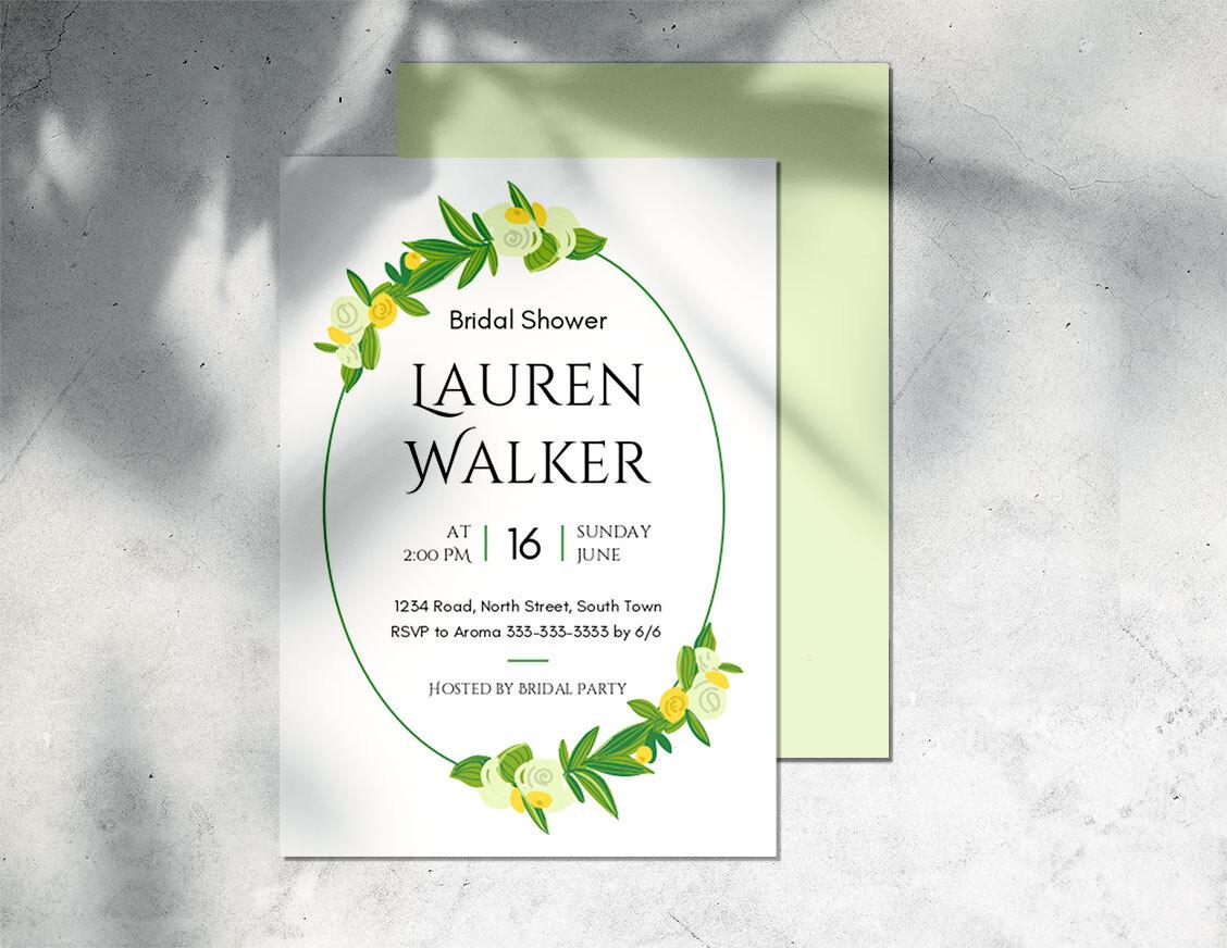 invitation maker free to custom