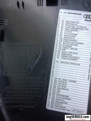 Audi A6 C6 Fuse box diagrams & schemes  imgVEHICLE