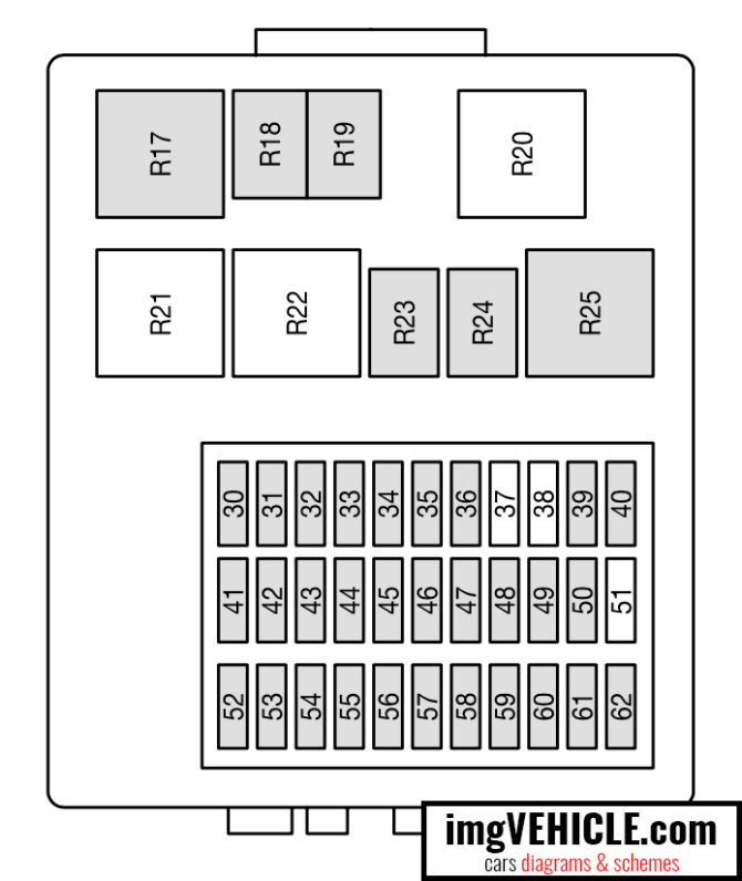 fuse box for 2007 ford focus  description wiring diagrams