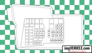 Mazda CX 7 Fuse box diagrams & schemes  imgVEHICLE