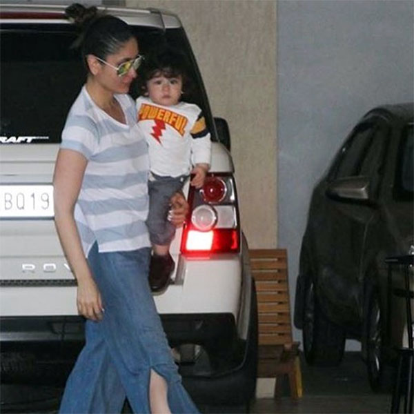 Taimur with mommy Kareena