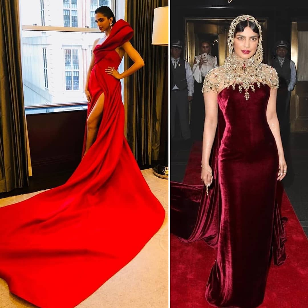 PC or DP who gets your vote for their Met Gala look