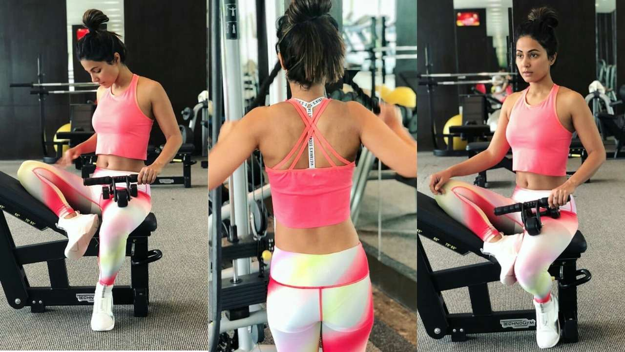 Hina's gym-fashion is to die for