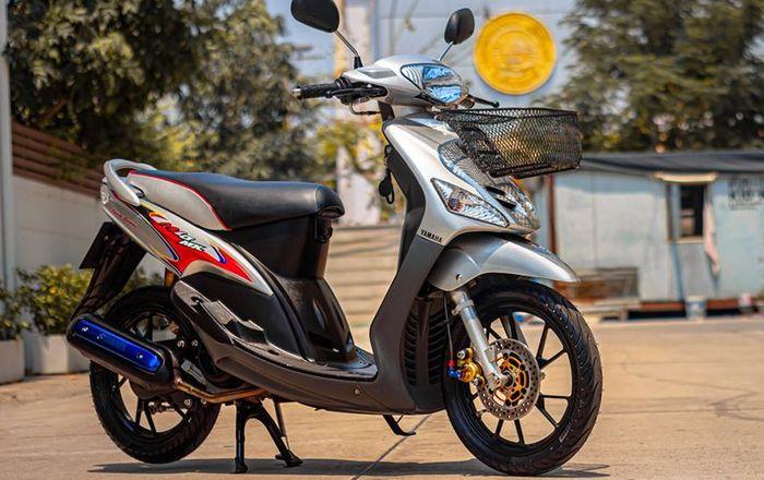 Yamaha Mio 110 . minimalist modification