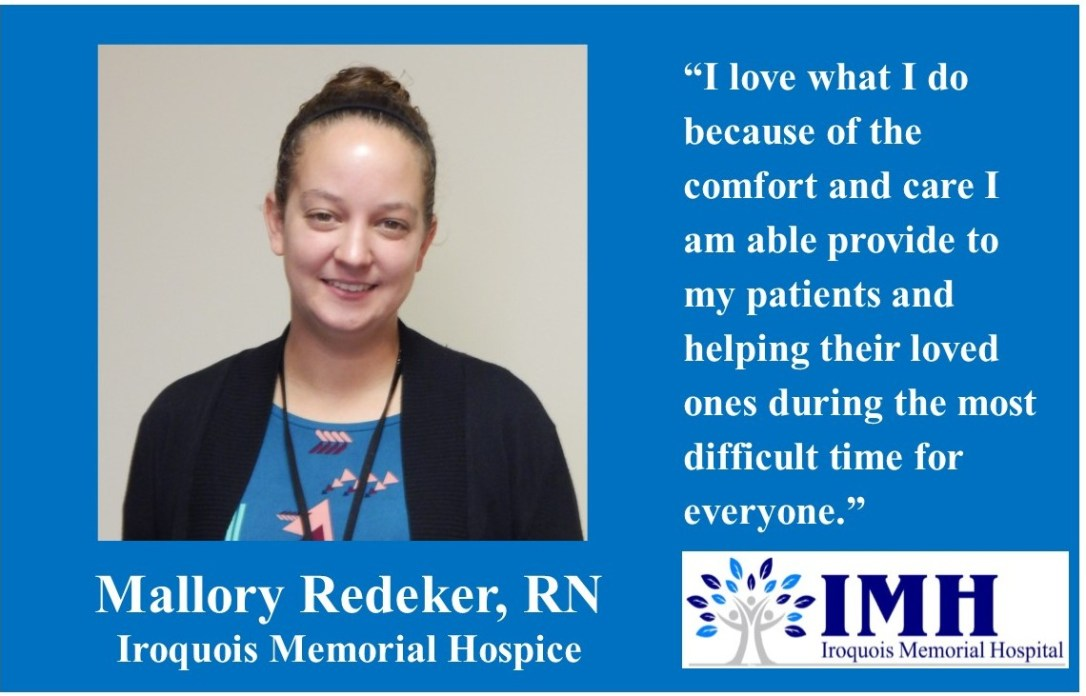 09-15-2017 Mallory Redeker, RN healthcare superstar