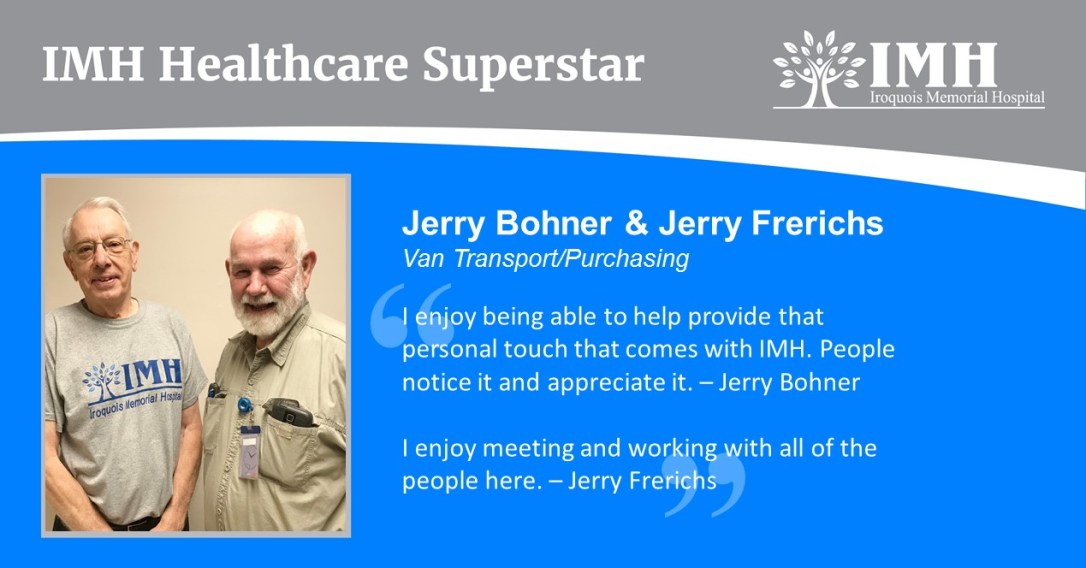 Jerry Bohner Jerry Frerichs