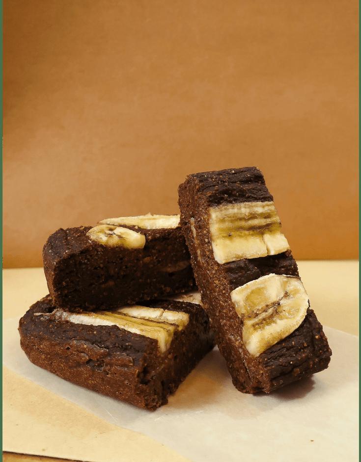 50 Calorie Vegan Chocolate Banana Bread Bites