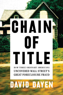 "David Dayen on ""Chain of Title"" & Housing Choices"