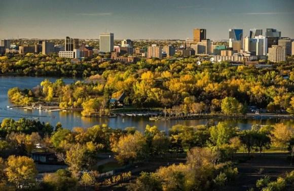 Regina capital de Sask