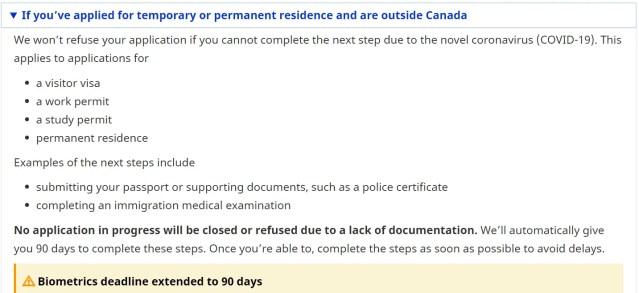 Canadá, fronteira fechada 2