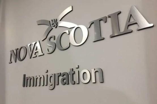 Fachada de um dos Escritórios de Nova Escocia