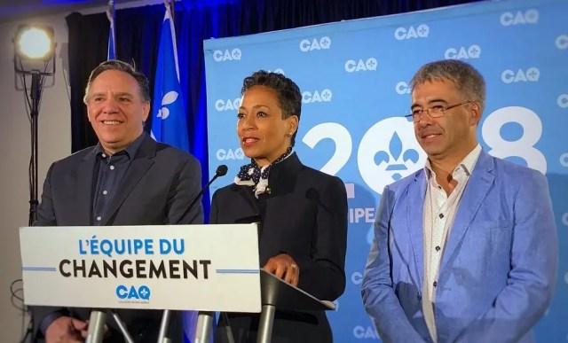 A Nova Ministra da Imigração Nadine Girault