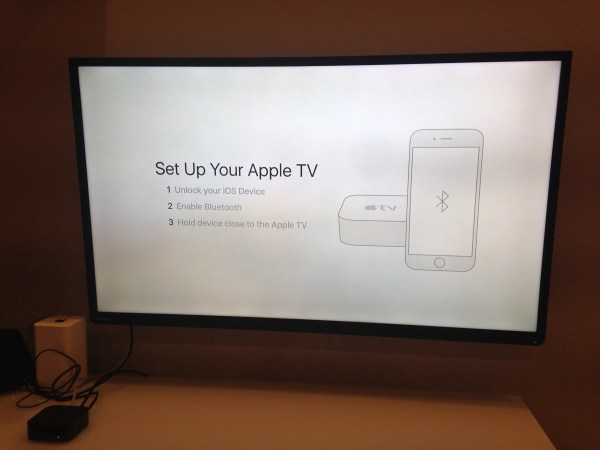 Set Up your apple tv
