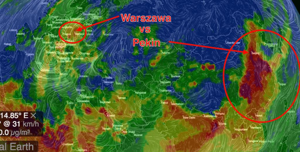 Smog - Warszawa a Pekin