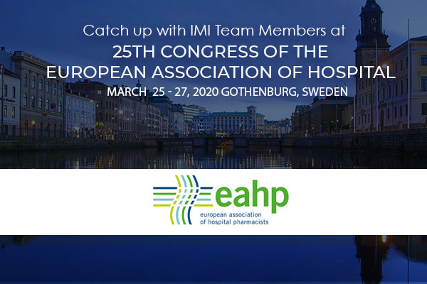International Medical Industries attends EAHP 2020
