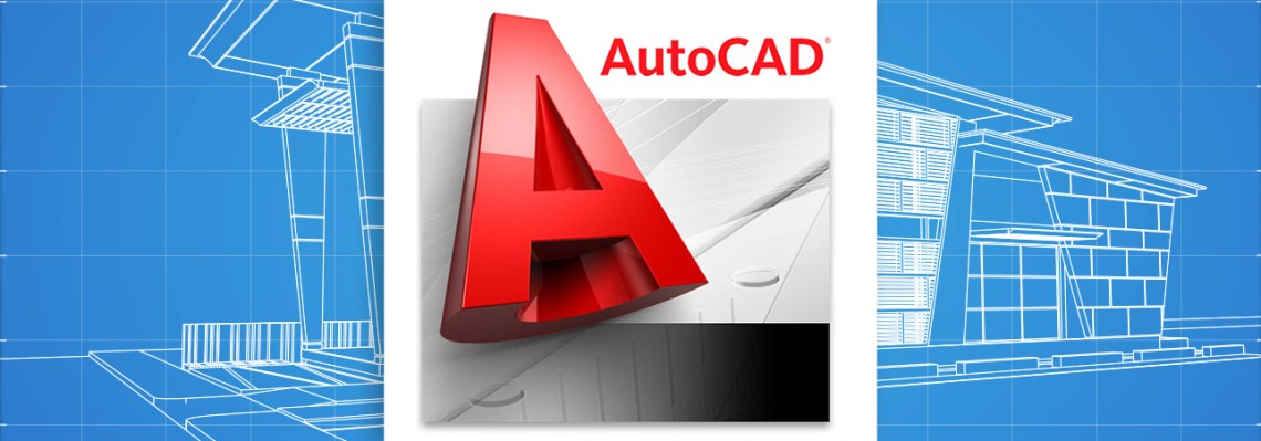 generic autocad logo with 3D house blueprint as background. iMi Web Design Fort Collins Colorado