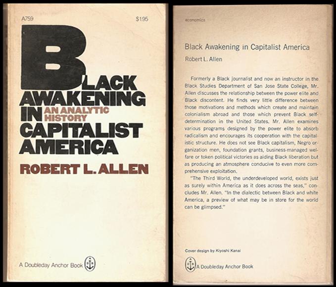 Robert Allen, Black Awakening and Internal Colonialism Theory