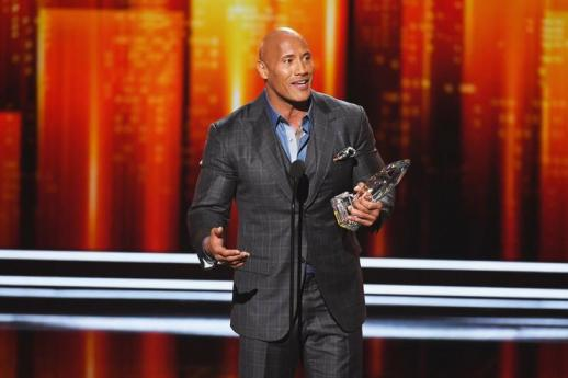 Image result for people's choice awards THE ROCK