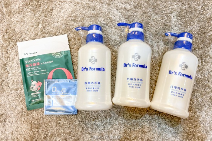 洗手乳推薦|台塑生醫 Dr's Formula 抗菌洗手乳 香味好聞泡沫豐沛又便宜