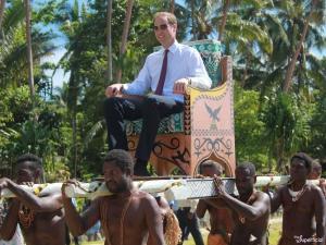 Prince Willaim Tuvalu, 2012.