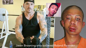 Jason who battered Roland Floander