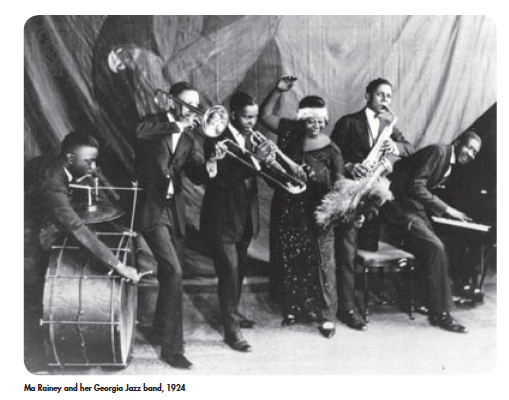 The Real Ma Rainey and Her band - imjussayin.com