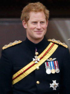 Prince Harry in full regimental uniform | www.imjussayinc.om