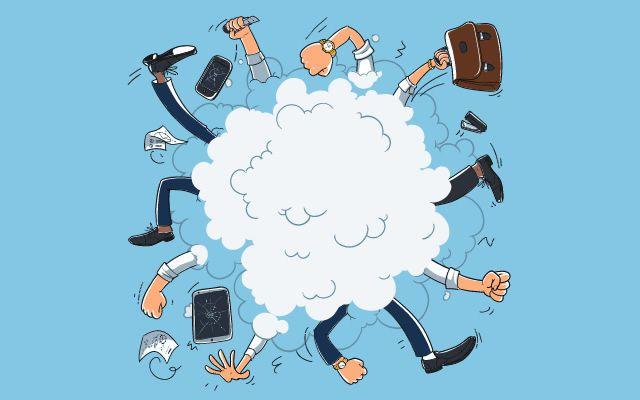 fists flying in a cloud - Modern Manners14 | www.imjussayin.com